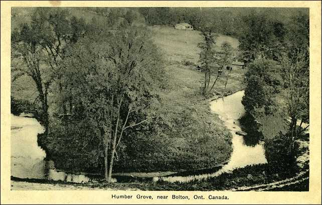 Humber Grove Photo post card
